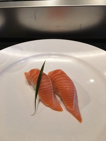 College Station, TX: King salmon, my final order (and dessert)