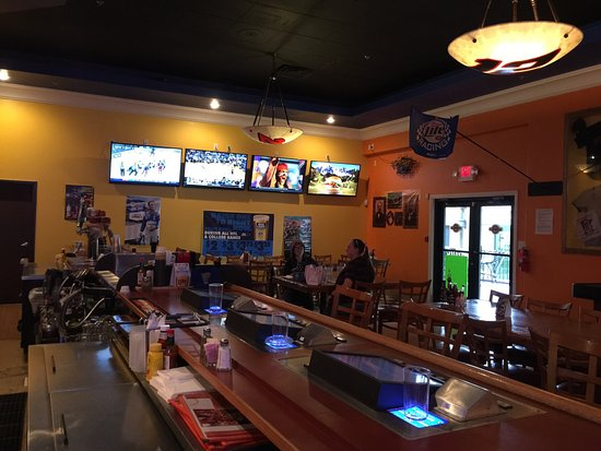 Pahrump, NV: A good place to stop by and have a burger and some wings. The bar tender is handsome and very ni