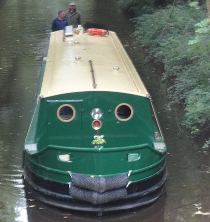 Llangattock, UK: Boatie McBoatface!