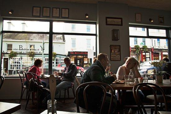 Greystones, Irlandia: Само кафе..