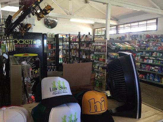 Pepeekeo, HI: inside the store