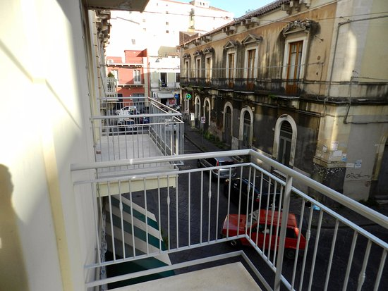 Katane Palace Hotel: View from balcony