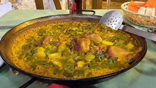 Paella Valenciana Con Pollo E Coniglio Foto Di El Rall Valencia Tripadvisor
