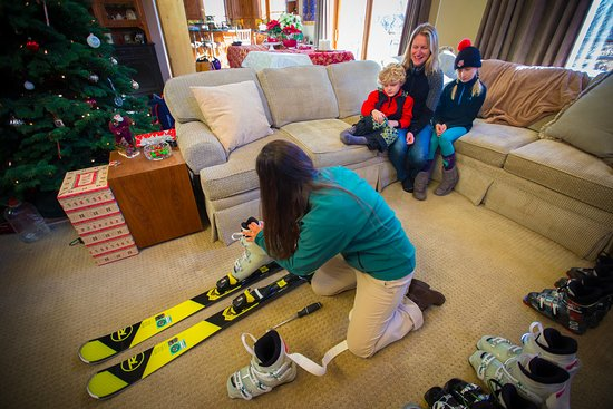 Ketchum, ID: Fitting the skis to the boots
