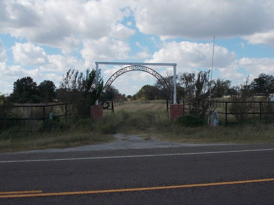 Blind Lemon Memorial Cemetery: Cemetery Entrance