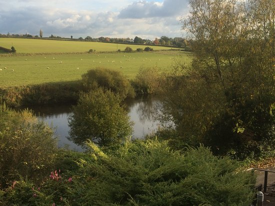 Hoarwithy, UK: View from Cottage