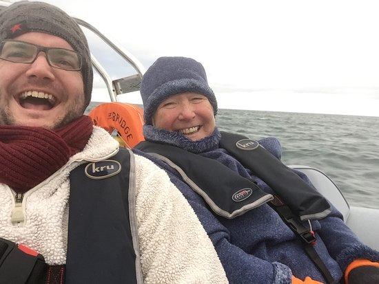 Menai Bridge, UK: Selfies midtrip
