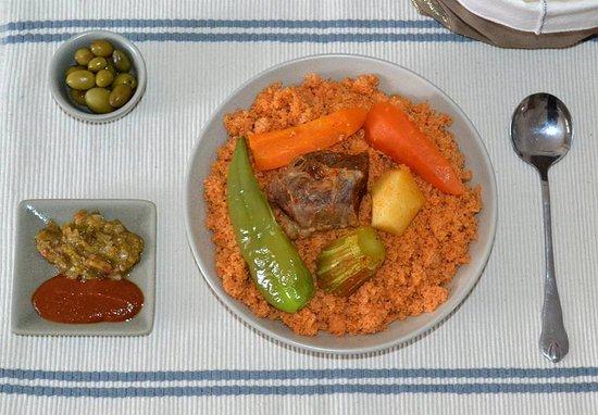 Traditional Tunisian Food Couscous Monday Picture Of El Koojina Monastir Tripadvisor