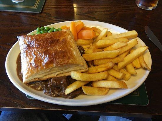 Gretna, UK: Steak Pie