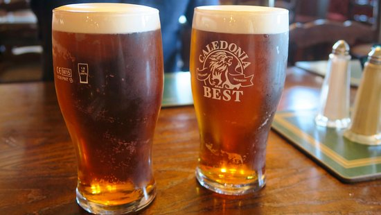 Gretna, UK: Couple of pints to complete the meals.