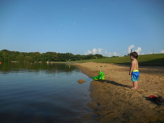 Marianna, AR: Swimming in Bear Creek Lake