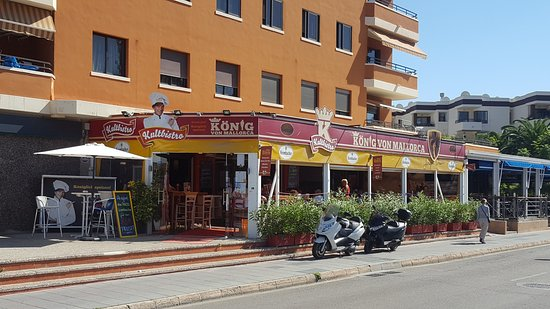 König Von Mallorca Santa Ponsa Restaurant Bewertungen