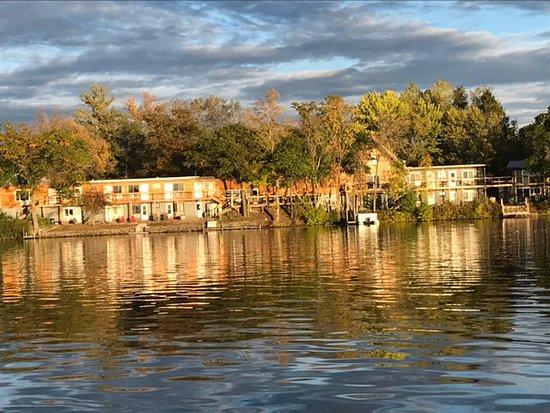 Rice Lake, WI: our lodge