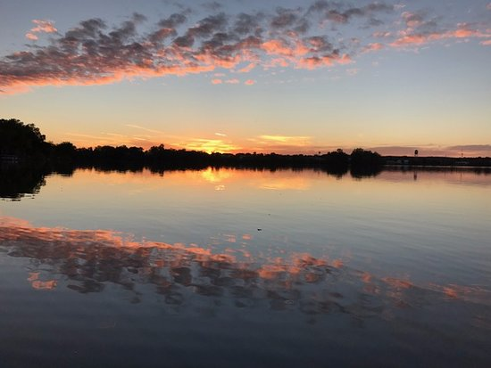 Rice Lake, WI: our sunset