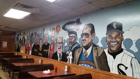 "Skokie, IL : Herm's ""Hall of Fame"""