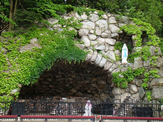 Grotto of Our Lady of Lourdes Picture of University of Notre Dame