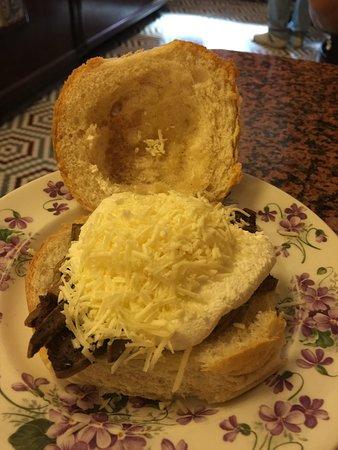 Ferdinando's Focacceria: spleen sandwich