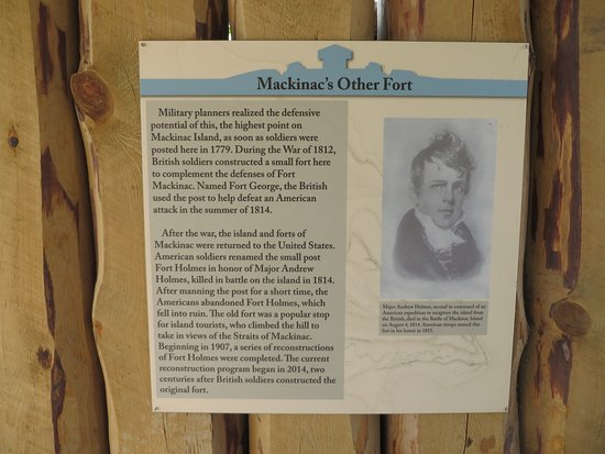 Fort Holmes : Mackinac's other fort