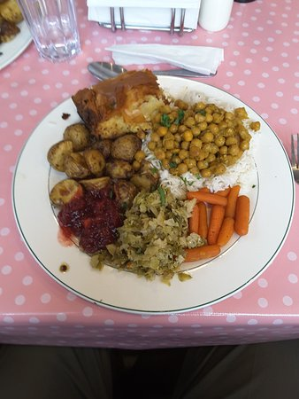 Centreville, Canada: Vegetarian Thanksgiving dinner (9 October 2016)