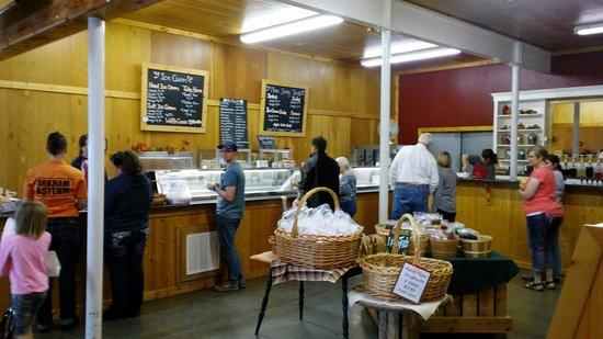 Ice Cream Counter Picture Of Rowley S Red Barn Santaquin