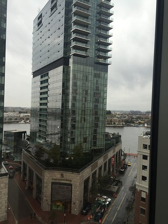 View From Room And Local Points Of Interest Picture Of Hilton Garden Inn Baltimore Inner