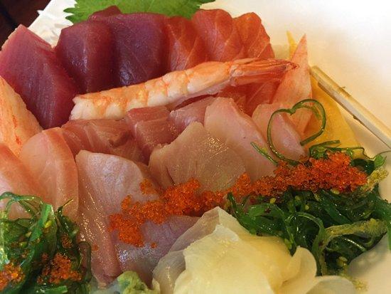 Danville, CA: sashimi