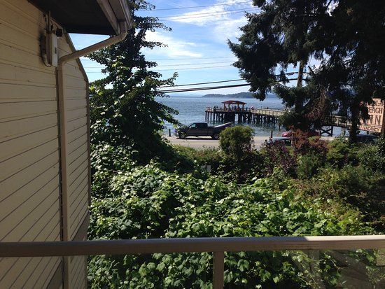 Sechelt, Канада: View from second floor room