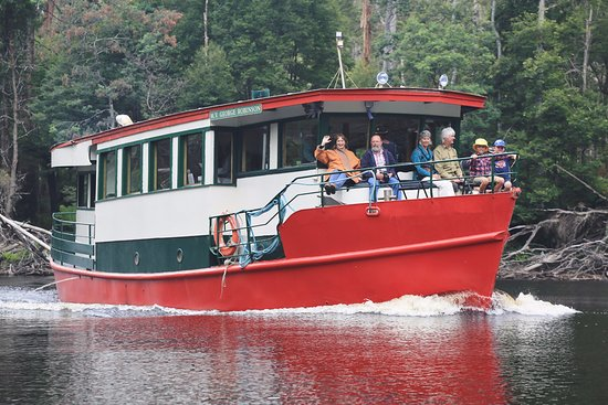 Experience the Tarkine Wilderness by cruising the Arthur River on the Red Boat