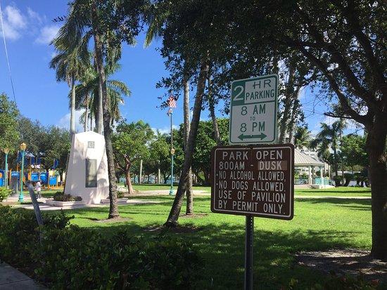 Picture Of Veterans Park Delray Beach