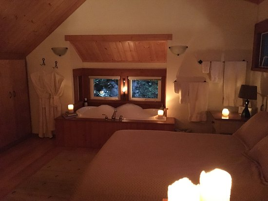 Madeira Park, Canada: loft bedroom