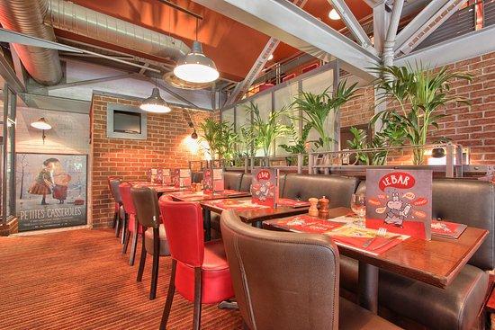 Hippopotamus Franconville: La salle de restaurant