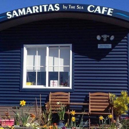 Motueka, Selandia Baru: the cafe!