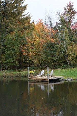 Jeffersonville, VT: Entry pond
