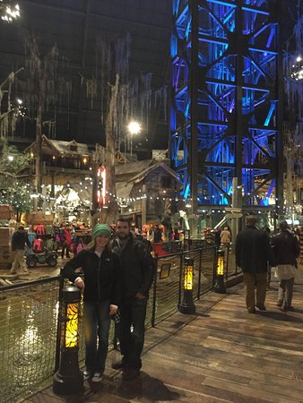 Pyramid Arena: Inside Bass Pro