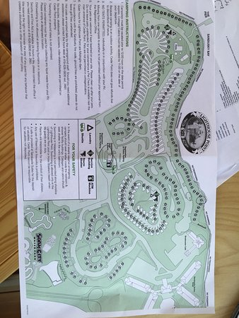Map Of Campground And Cabins Picture Of Cedar Point S