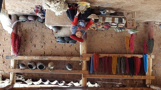 Chinchero, Perú: Centro Texti Urpi
