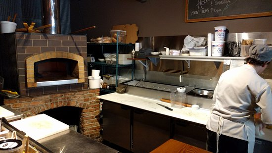 Wooster, OH : Savory wood fired items are a connoisseurs delight