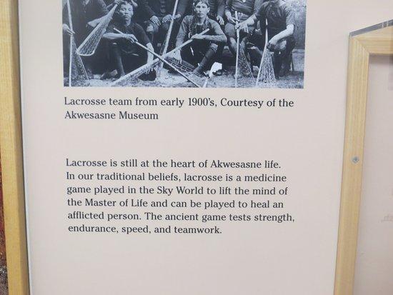Hogansburg, Estado de Nueva York: Lacrosse