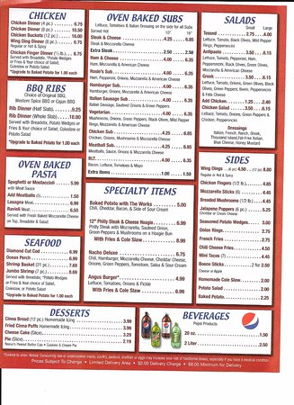 Dearborn Heights, Μίσιγκαν: new menu 2016