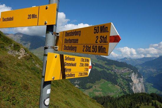 Stechelberg, Suíça: Berggasthaus Obersteinberg