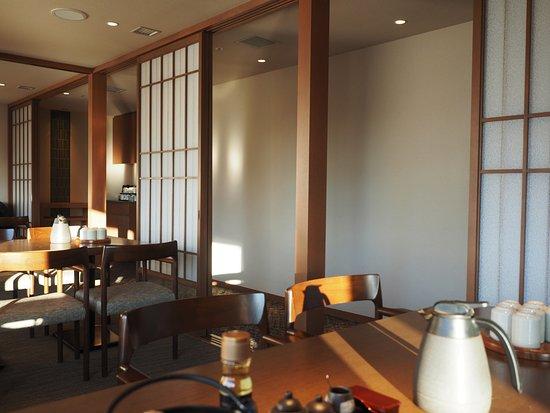 Century Royal Hotel: Dining Room Set Up For Japanese Breakfast