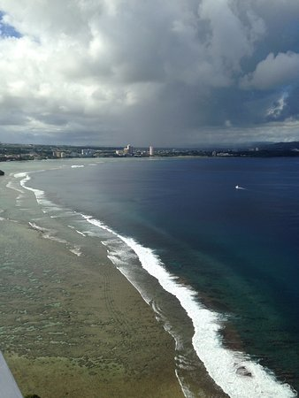 Two Lovers Point: view of Tumon Bay