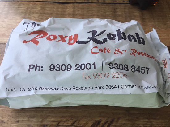 My Friday regular a mixed Kebab takeaway  - Picture of Roxy Kebab