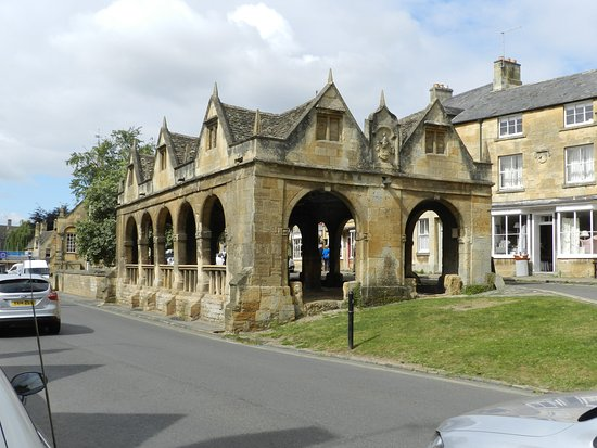 Chipping Campden, UK : Market Hall from the east