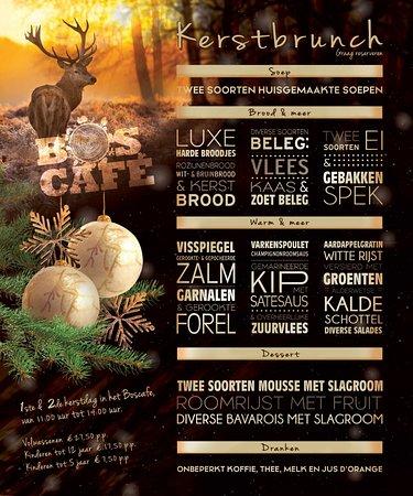 Boscafe het maasdal: Kerstbrunch