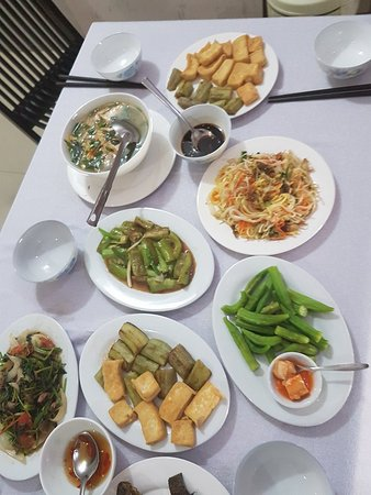 Hoang Thu Homestay: the lovely meal