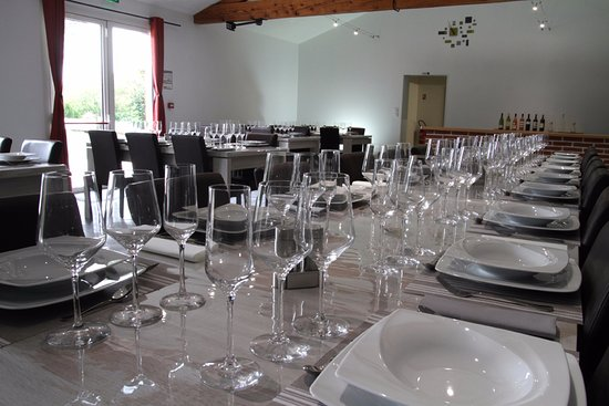 Montegut-Saves, France: Restaurant