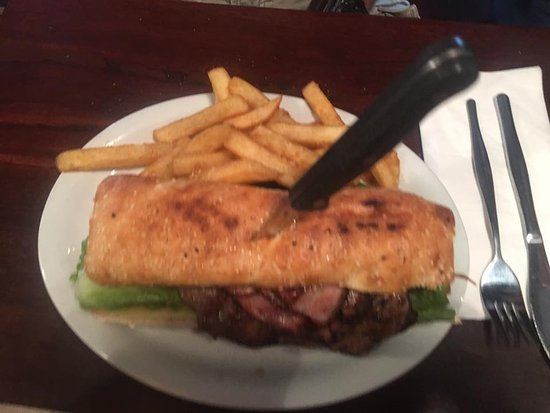 Bullsbrook, Australien: Steak Sandwich yum