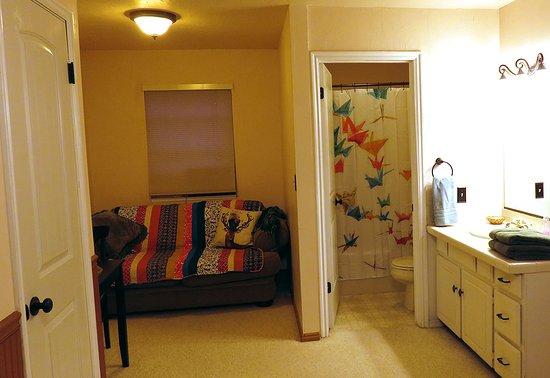 Rockville, UT: The suite extention of our large Kolob Elk Room.
