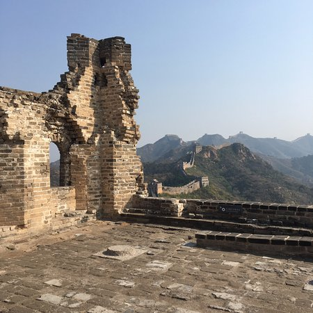 Luanping County, จีน: Ruined tower, east of Houchuankou pass (cable car)